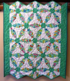 Endless Chain Crib Quilt by Serenstitches on Etsy