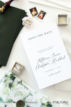 Modern Calligraphy Save The Date Cards Wedding Stationery Weddingstationery Engagement Invitation