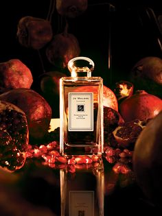 Jo Malone Pomegranate Noir. This is the most interesting Jo Malone I've smelled…