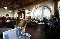 Café de Grancy - Lausanne, Switzerland April 2013