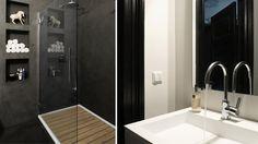 Baños de estilo asiático de choc studio interieur
