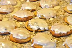 Pumpkin Chocolate Chip Cookies with Brown Sugar Icing Recipe