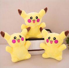 Dolls,Plush toys 18 cm,Cute Giant Big Size Pikachu
