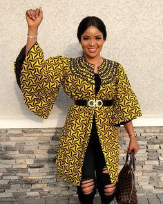 Latest Ankara Kimono Styles 2018 : Most Recent African Dresses