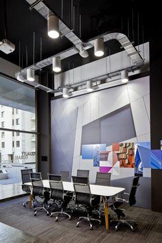 TRESPA Design Centre Santiago. Concept, design and realisation interior and graphics.