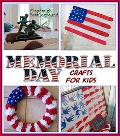 memorial day crafts on pinterest