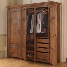 solid wood Wardrobes Luxury 3 Door Wardrobe in Solid Wood - Handmade in the UK
