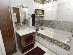 Modélisation et habillage 3D d'une salle de bain pour une promotion immobilière