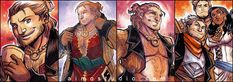 All About Varric (and Friends) by aimo.deviantart.com on @deviantART