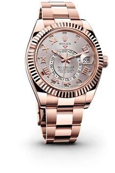 "Rolex Sky-Dweller, ""Simplicity is the ultimate sophistication."""