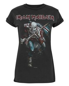 Femmes - Amplified Clothing - Iron Maiden - T-Shirt (S)
