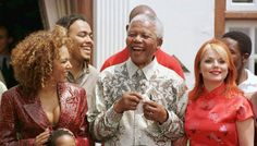 BBC News - Nelson Mandela death: Entertainment world pays tribute to Mandela Nelson Mandela Death, Nelson Mandela Pictures, Viva Forever, British Celebrities, Spice Girls, Girl Bands, Famous People, African, Celebs