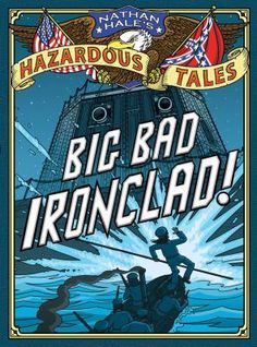 """""""Retells, in graphic-novel format, the history of the ironclad steam warships used in the Civil War, revealing facts about the ship's inventor, William Cushing--who pranked his way through the entire war--and other real-life characters."""""""