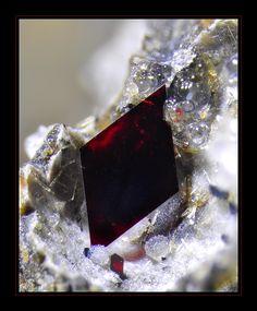 Hematite, Fe2O3  Locality: Spain