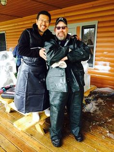 Ice Carving Boot Camp Special Forces 2015 Junichi Nakamura & Duane Schmelhaus