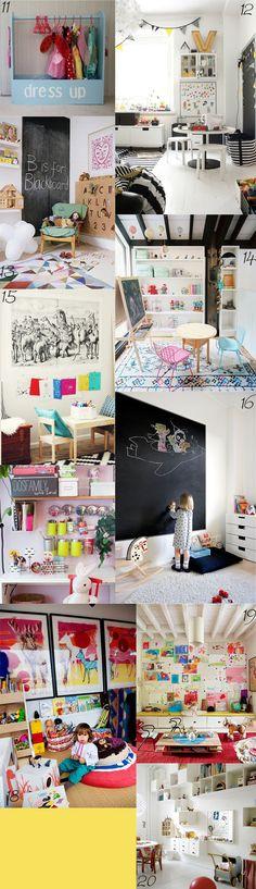 20 Top Best Kids Playrooms