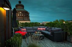 Swedish home with incredible rooftop terrace