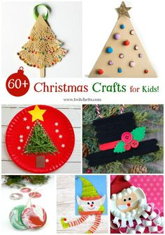 Christmas Crafts for Kids Roundup. A collection of holiday crafts that kids can create. Perfect for preschoolers and kindergartners. From rock painting to ornaments, there is a kids craft for everyone.  #christmascraftsforkids #diychristmas #diychristmascrafts #craftsforkids #twitchetts