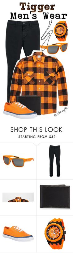 """""""Men's Wear: Tigger"""" by disney49 ❤ liked on Polyvore featuring NIKE, Topman, Rothco, Neiman Marcus, Nautica, Joshua & Sons, Oliveti, men's fashion and menswear"""