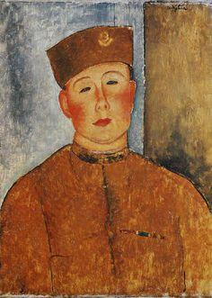 Amedeo Modigliani,  Le zouave