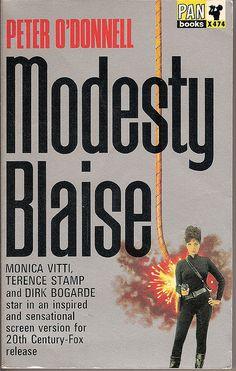 Modesty Blaise (Pan Books X474. 1966)