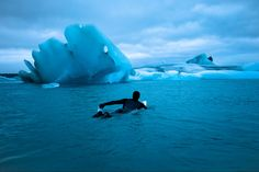 FIRST SURFERS TO RIDE SUB-ZERO ARCTIC SWELLS