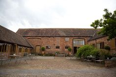 Melanie and Martin's Real life wedding at Curradine Barns - The venue | CHWV