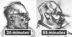 1950s Experiment Asked Artist To Take LSD And Draw The Same Portrait 9 Times, And Each Portrait Got Crazier   Bored Panda