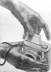 2014年度 多摩美術大学 グラフィックデザイン学科 現役合格者再現作品:鉛筆デッサン