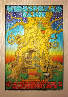widespread poster by chuck sperry.