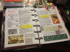 Koi Pond on tumblr Looking at doing more journaling and art in planner