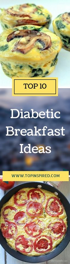 There are many different kinds of recipes for diabetics you can choose from for what to cook in the morning. This time, we manage to make a list of top 10 breakfast recipes for people with diabetes, sweet and regular, and we think that we have made a fine choice.