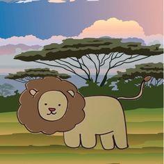 Cómo dibujar un león.