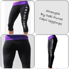 ea5aa6b857 Our product of the week...Strength by Debi Purcell capri leggings. Shop