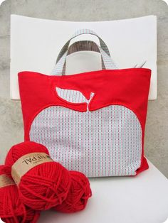 *Tadaam !: DIY / Tuto : sac à tricot:
