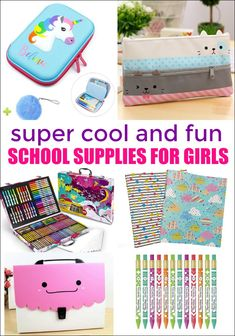 Cool back to school supplies for girls online game clipart vector free college . Cool School Supplies, School Supplies Highschool, School Supplies Organization, Classroom Organization, Kindergarten, Thanksgiving Crafts For Kids, Kids Crafts, Funny Jokes For Kids, Raising Girls