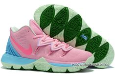 Latest Nike Kyrie 5 Pink/Blue-Green Puma Suede, Girls Basketball Shoes, Volleyball Shoes, Kyrie Basketball, Sports Shoes, Retro Jordans 11, Jordans Girls, Air Jordans, Sports
