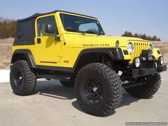 Comparing the Two-door and Four-door Jeeps: Which is Better Coolest Two Door Jeep Design 40 Yellow Jeep Wrangler, 2005 Jeep Wrangler, Jeep Tj, Jeep Wrangler Unlimited, Bugatti, Lamborghini, Ferrari, Jeep Cars, Jeep Truck