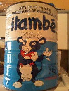 É da sua época?: [1990] Lata de Leite em Pó Itambé de 2kg