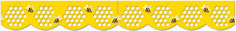 Honeycomb Jumbo Stencil-Cut Border  #giveaway #creativeteachingpress #ctp