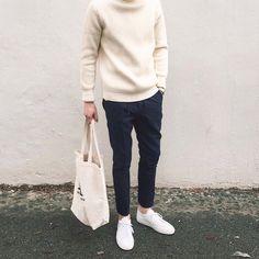 winter // #menswear #mensstyle #mensfashion #sweater #style #nordic #scandinavian #minimal