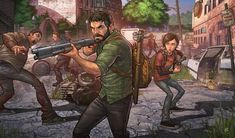 The Last of Us Remastered by PatrickBrown.deviantart.com on @deviantART - Patrick Brown, you beautiful unicorn, you've done it again! Awesome artwork.