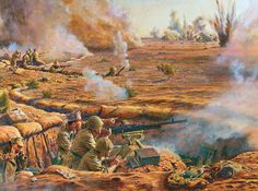 Trento Division strongpoint, El Alamein 1942