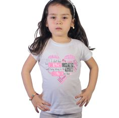 Heart Breast Cancer Awareness kids shirt by shirtsbynany on Etsy Funny Kids Shirts, Shirts For Girls, Go For It, Long Sleeve Bodysuit, Breast Cancer Awareness, Baby Bodysuit, Workout Shirts, Trending Outfits, Rabbit