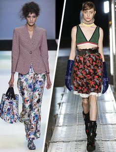 Desfiles de Giorgio Armani e MSGM na Milan Fashion Week 2016