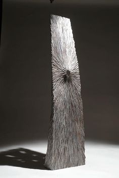 "Christophe Nancey ~ ""Grande Empreinte"" ~ Oak - Wood Sculpture"