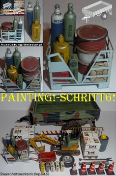 Shortys Werkbank: M1082 LMTV-workbench-Painting!-Schritt6!