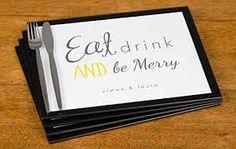 Image result for wedding placemat keepsake