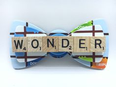 Custom Scrabble Bow Tie  NEW DESIGN  $ 31.99