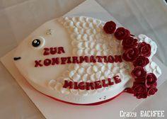 Für die liebe Michelle aus meinem Dorf gab es zur Konfirmationen eine leckere und etwas andere Torte. Und zwar wünschte sie sich zu ihrem F...
